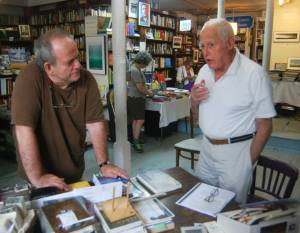 James Salter and Tom Mathews