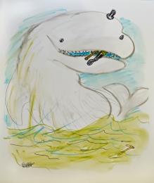 Jules Feiffer Pas De Deux With Whale.jpg